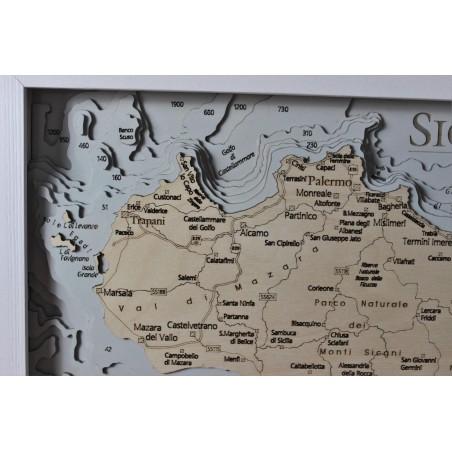 Cartina Completa Sicilia.Sicilia