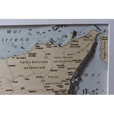 Cartina Mappa Sicilia.Sicilia