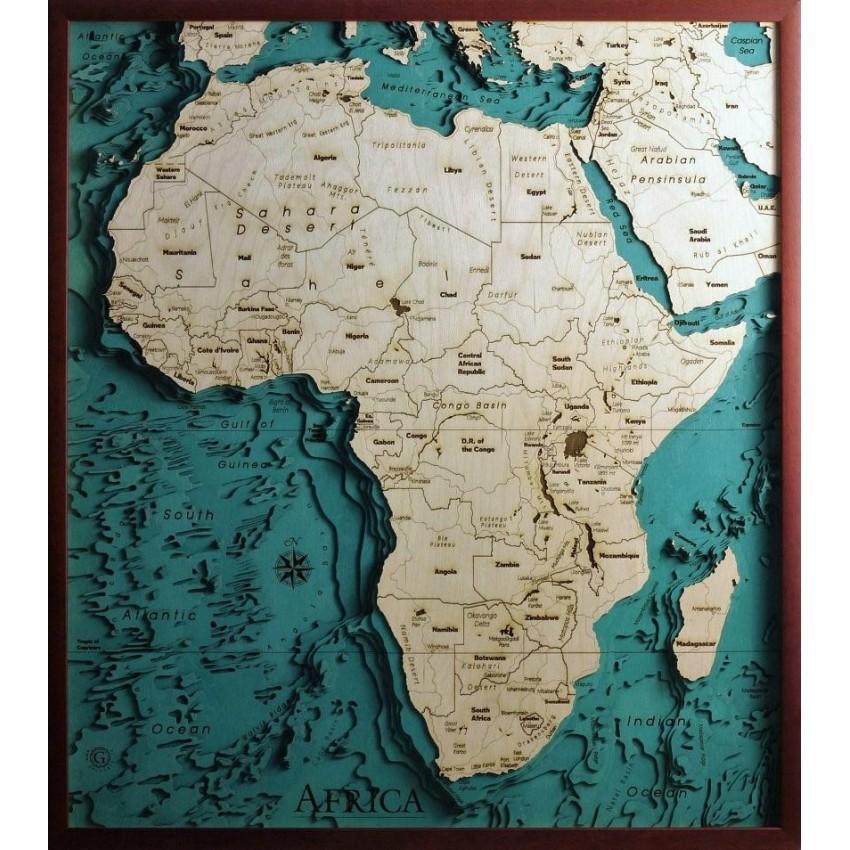 Cartina Africa In Italiano.Africa