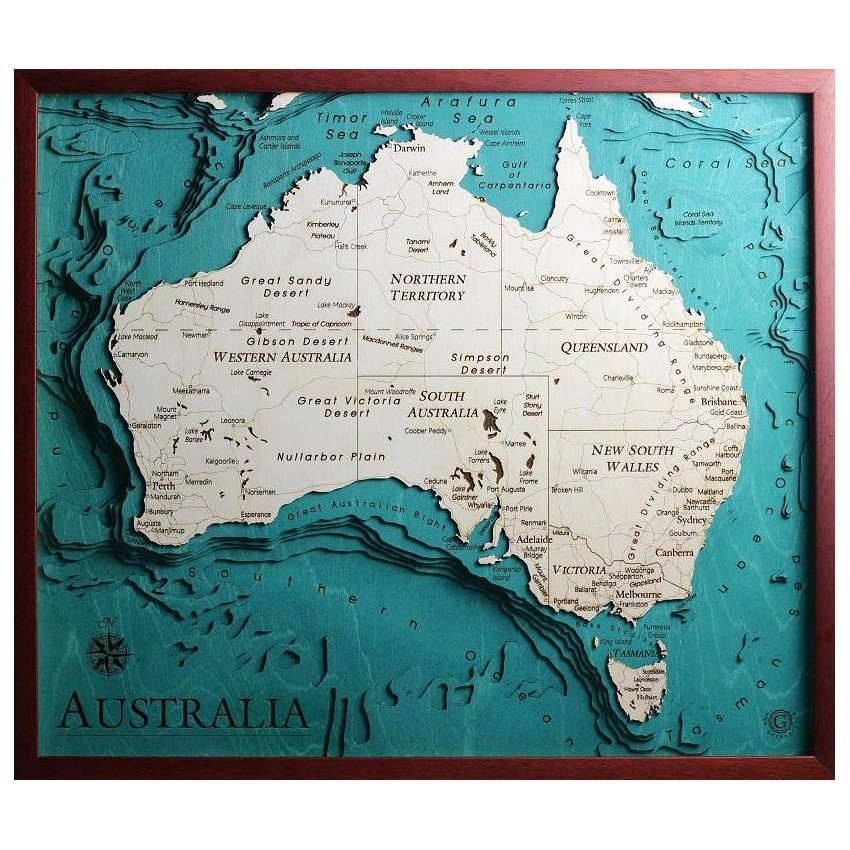 Cartina Mondo Da Riempire.Mappe Topografiche In Legno Taglio Ed Incisione Laser