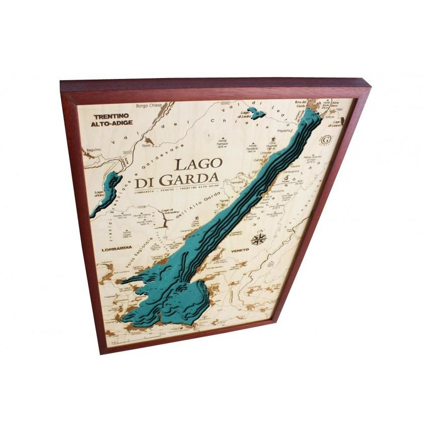 Cartina Topografica Lago Di Garda.Lago Di Garda