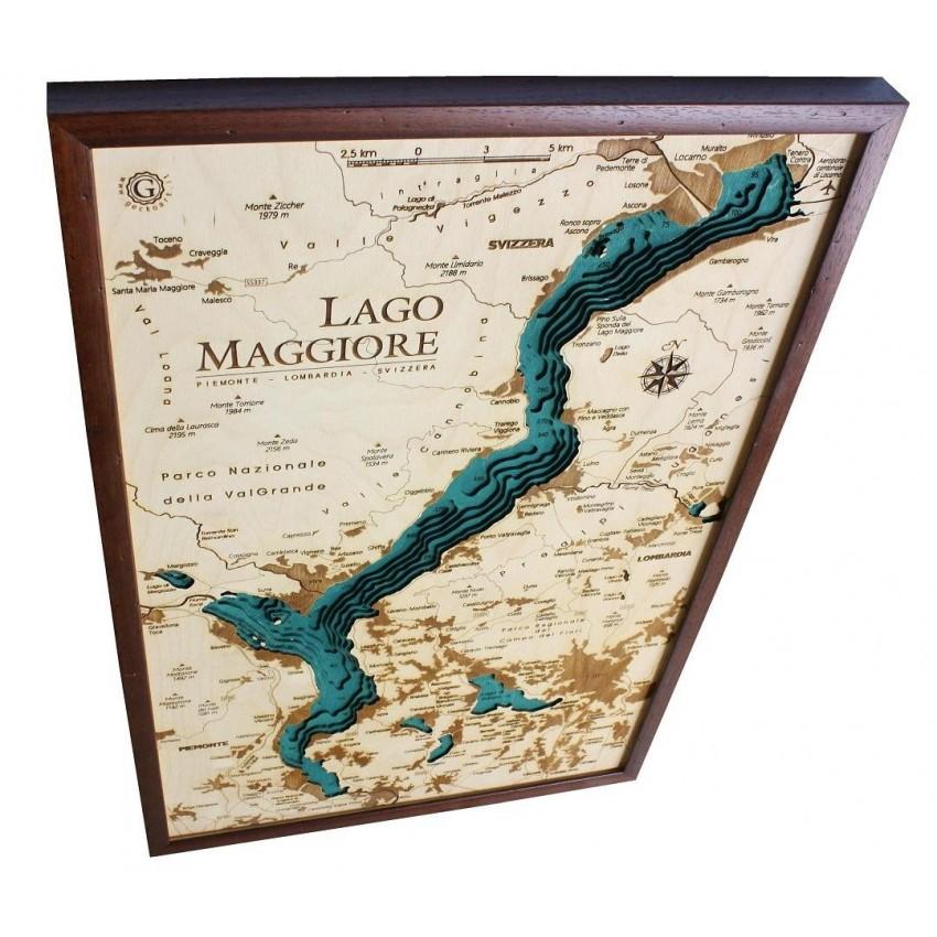 Cartina Lago Maggiore Stradale.Lago Maggiore
