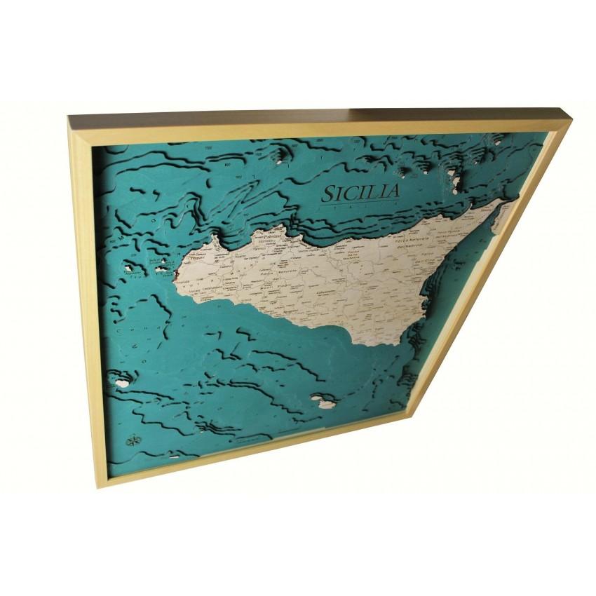 Cartina Completa Sicilia.Sicilia Versione Completa