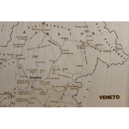 Trentino Alto Adige Cartina Fisica E Politica.Trentino Alto Adige