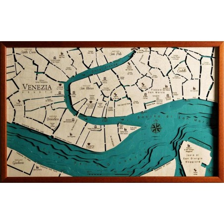 Cartina Venezia Centro Storico.Venezia Centro Storico